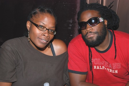 Una and Gramps Morgan at Interview